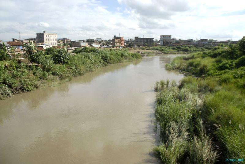 Imphal Turel (River) in Sept 2012
