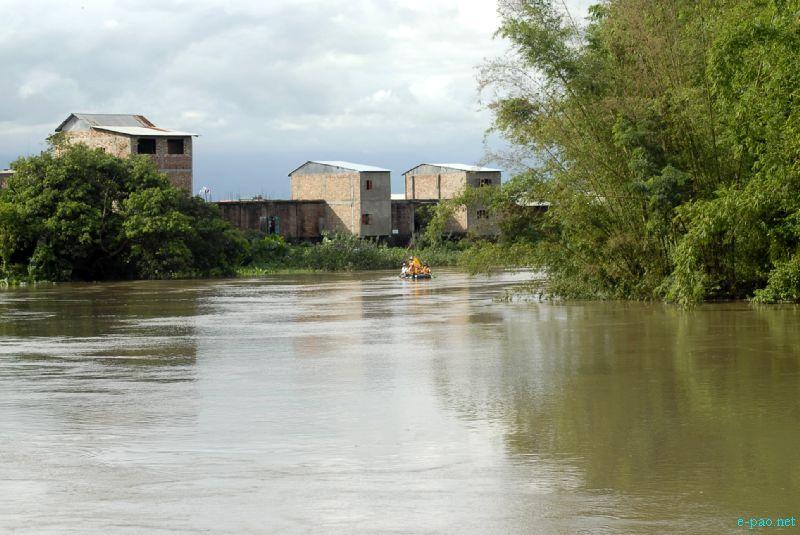 The Spirit of Imphal River Rafting Expedition 2012 (Khuman Lampak to Laiphakpam) :: 16 September 2012