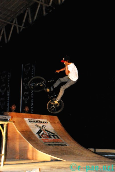 BMX Stunt show @ X Jam NE India Tour 2012 Shillong :: 18th August 2012