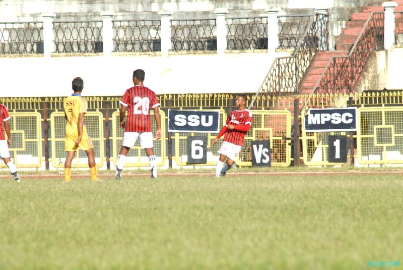 7th edition of Manipur State League football tournament 2012 - Last Match :: 23 October 2012