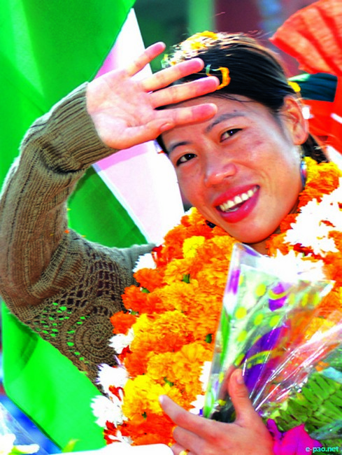 Mary Kom  :: Manipur Olympic Dreams 2012 London