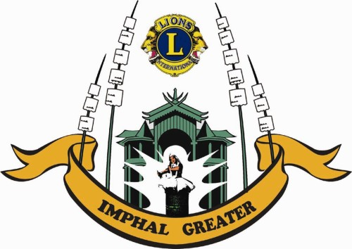 Lions Club of Imphal Greater Logo