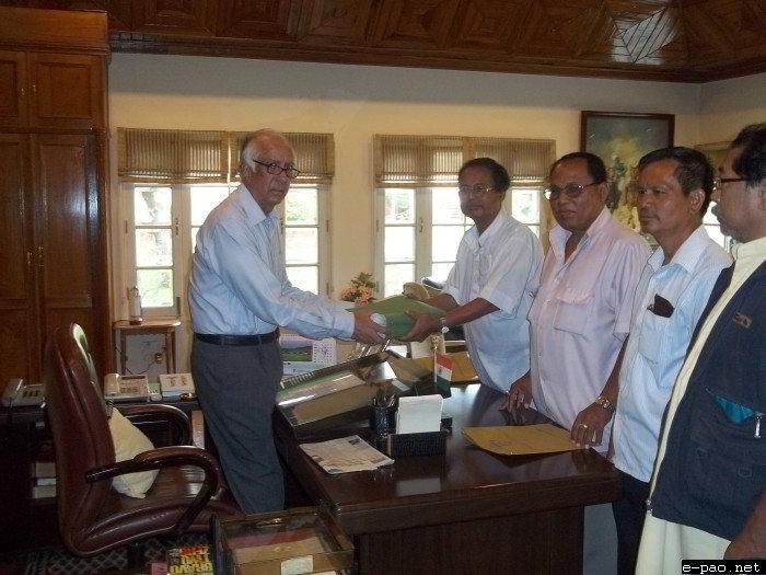 BJP Memorandum to the President of India on Sadar Hills Economic Blockade and Counter-Blockade