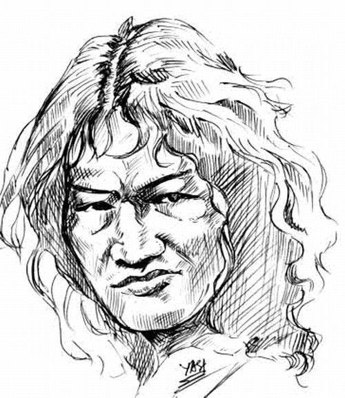 Irom Sharmila painting