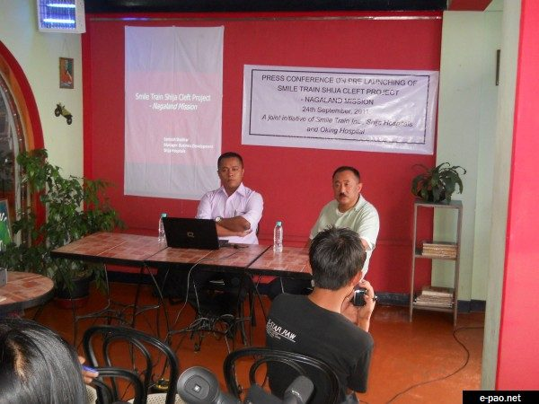 Pre launching of Smile Train Shija Cleft Project - Nagaland Mission , Kohima