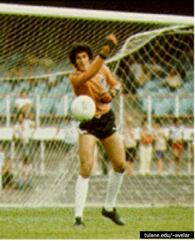 Joao Leite - Brazilian Football Goalkeeper
