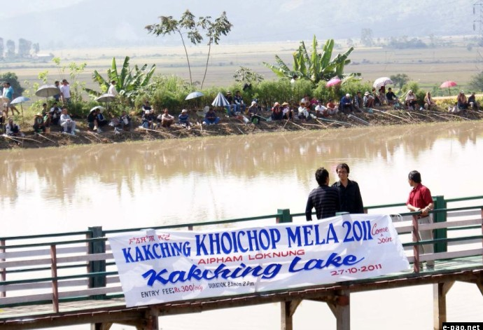 First Angling Competition Held at Kakching
