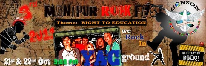 3rd Manipur Rock Festival, 2011