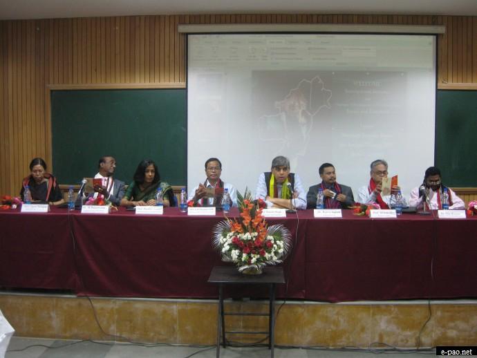 International Seminar on Challenges of Development in North East India at Delhi university