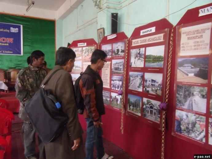 Development Photo Exhibition  at Manipur Press Club, Imphal on 2 Dec 2011