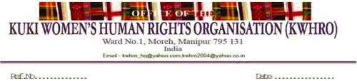 Kuki Women's Human Rights Organization (KWHRO) Logo