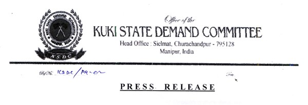 Demand for a Kuki State