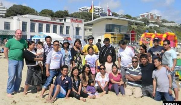 4th Anniversary Celebration of Kuki Worship Service London at Bournemouth Beach