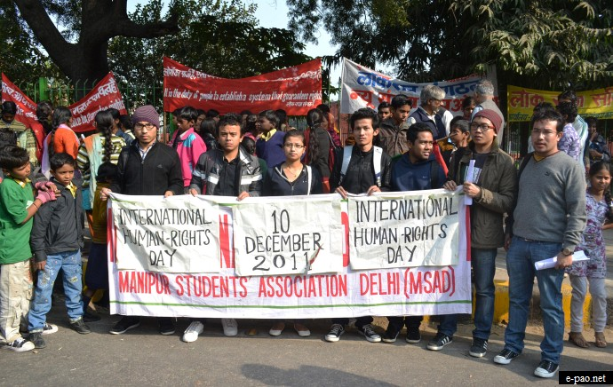 International Human Rights Day Observance at Delhi on 10 dec 2011