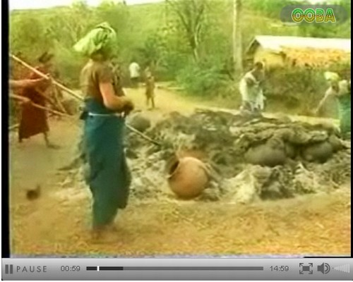 A Clip from The Coil Pottery of Manipur in Andro and Thongjao