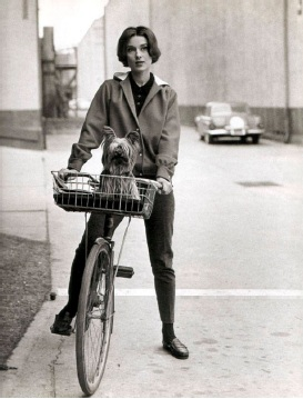 Audrey Hepburn on Cycle
