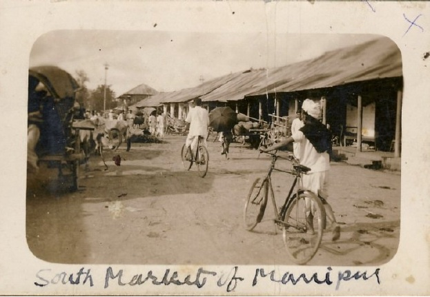 Cycles in South Market, Manipur