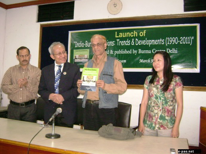 Launch of India-Burma Relations (1990-2011) Report & Interactive Session on Burma