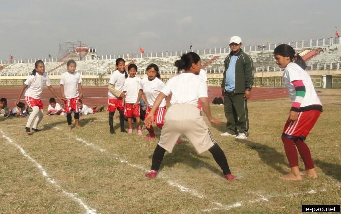5th Inter Children Home Sports Meet 2012 at Khuman Lampak Sports Complex