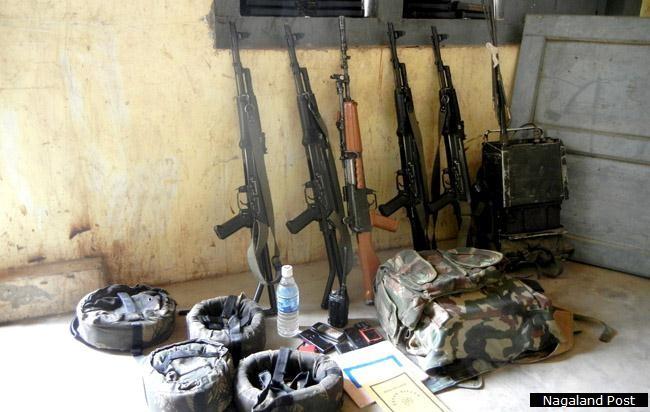 Seized: AR's arms still under NSCN (I-M) custody on April 20 2012