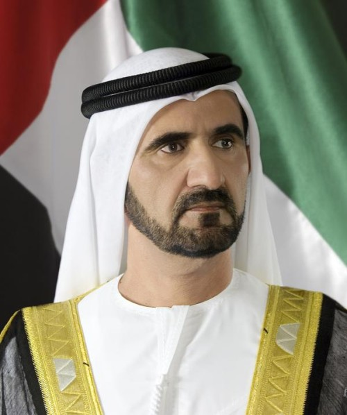 His Highness Sheikh Mohammed bin Rashid Al Maktoum, Vice President, PM of UAE and Ruler of Dubai