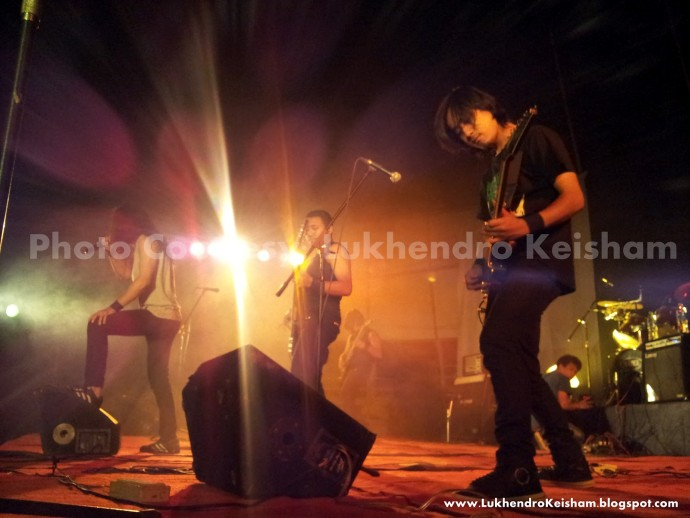 The 1st IMPHAL  METAL CONVENTION - METAL AGE RELOADED - 2012