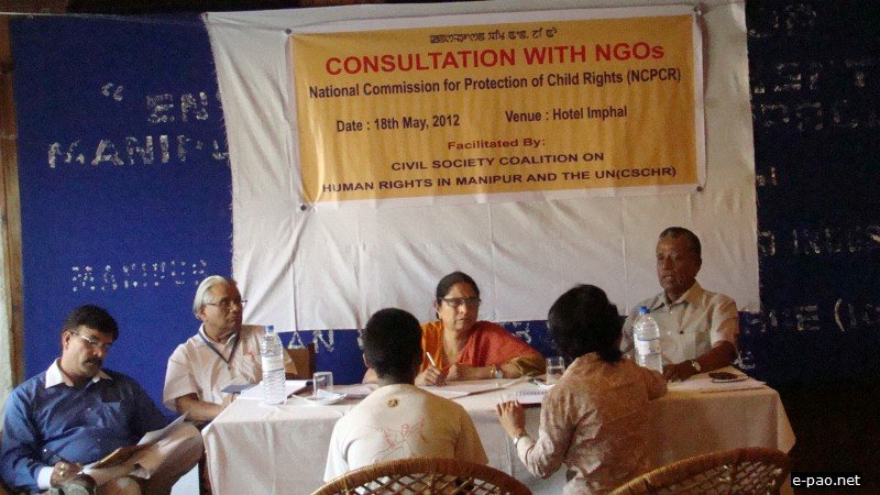 National Commission for Protection of Child Rights investigates child encounter killing in Imphal West District