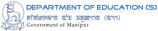Department of Education(S) Govt of Manipur logo