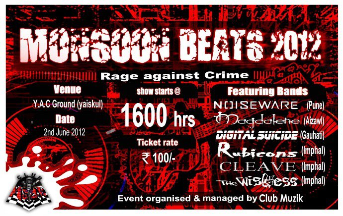 Monsoon Beats on 2nd June, 2012 at YAC Range Ground