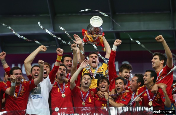 Spain Reigns : 2012 UEFA European Football Championship