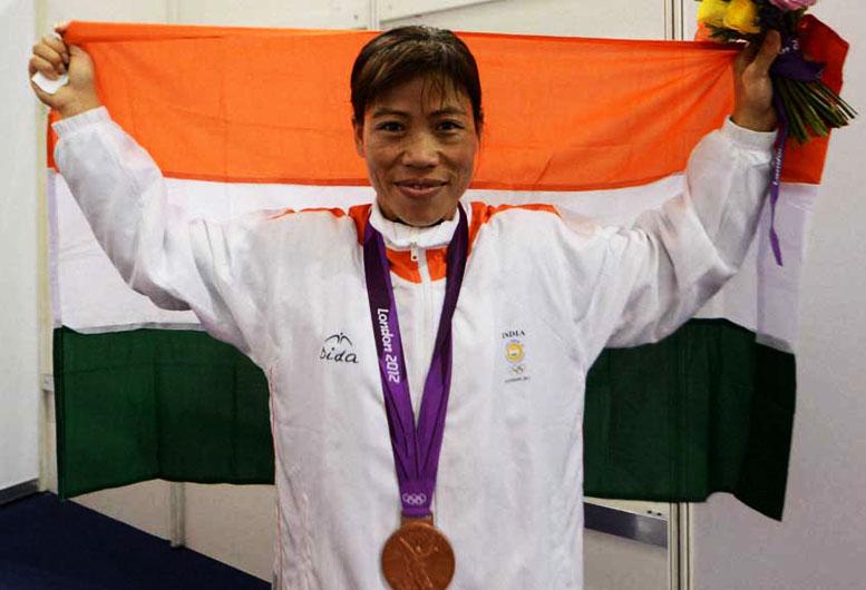 M.C. Mary Kom Olympic Bronze Medallist