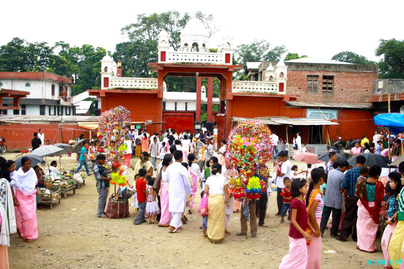 Shri Krishna JANMASTAMI was celebrated in different parts of Manipur ...