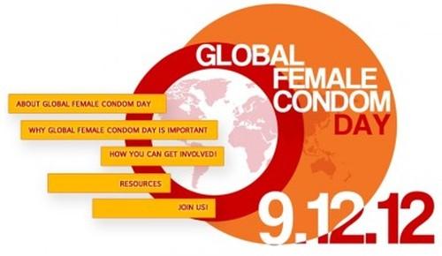 Global Female Condom Day on 12th September