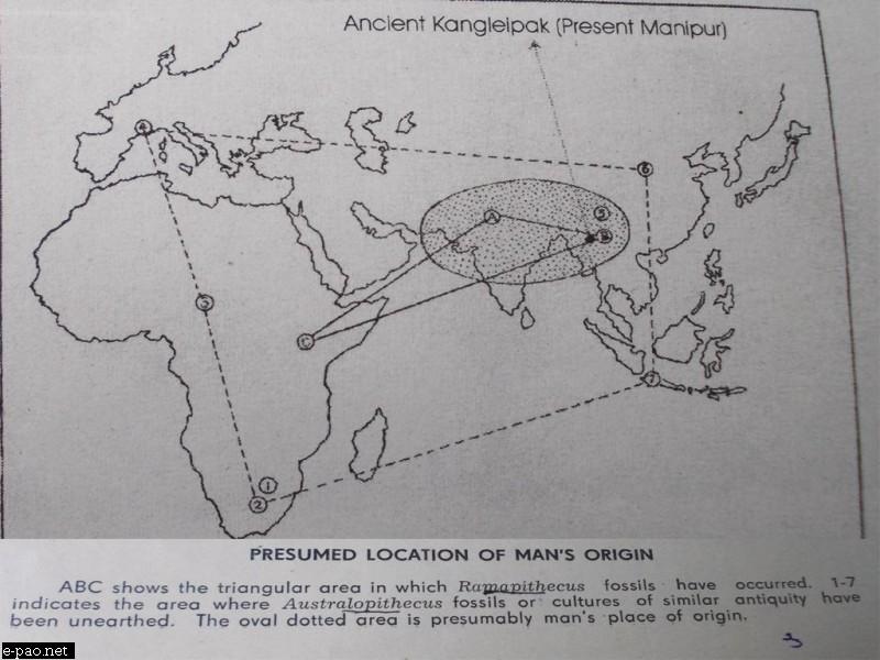 Human Ancestors originated in Asia, not Africa