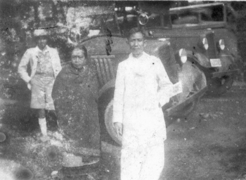 File Photo of Hijam Irabot and his wife RK Khomdonsana
