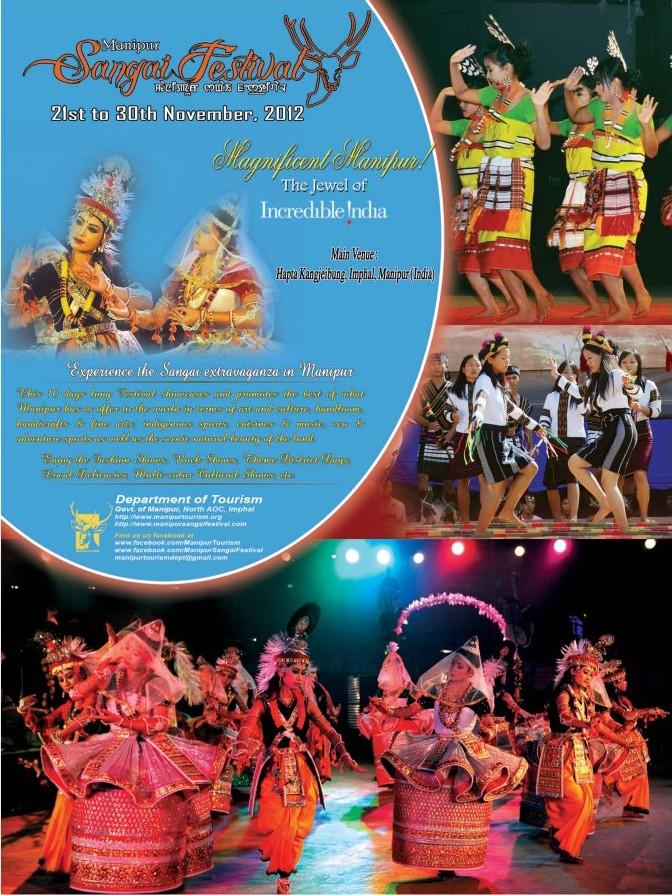 essay on manipur sangai festival